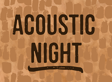 Acoustic Night Instagram Post